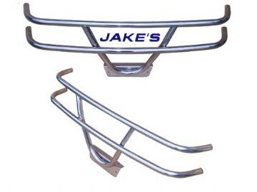 Jake's brush guard (Stainless) for Club Car 81-up DS
